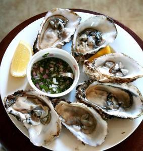 plat d'ostres